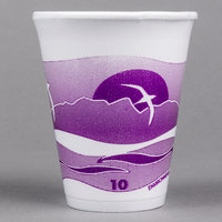 Dart 10LX10H 10 oz. Horizon Foam Cup - 1000/Case
