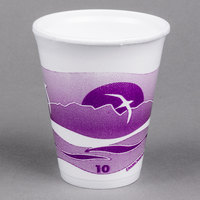 Dart 10LX10H 10 oz. Horizon Foam Cup - 1000/Case