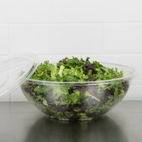Sabert 12320 FreshPack 320 oz. Clear PETE Round Bowl - 25/Case