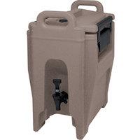 Cambro UC250194 Ultra Camtainer 2.75 Gallon Granite Sand Insulated Beverage Dispenser