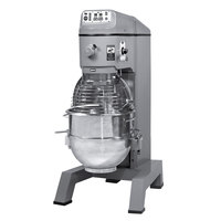 Globe SP80PL Gear Driven 80 Qt. Commercial Planetary Floor Mixer - 208V, 3 hp