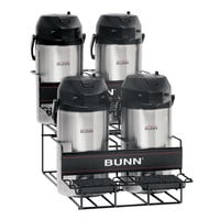 Bunn 35728.0003 UNIV-4 APR Two Tier Four Pot Universal Airpot Rack