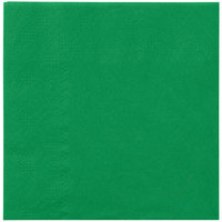 Hoffmaster 180329 Jade Green Beverage / Cocktail Napkin - 250/Pack