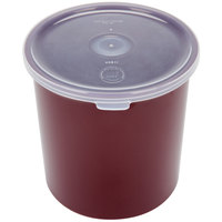 Carlisle 030101 1.2 Qt. Brown Classic Crock with Lid