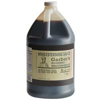 Regal Worcestershire Sauce 1 Gallon Bulk Container - Garber's Brand - 4/Case