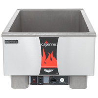 Vollrath 72023 Cayenne Full Size Heat 'n Serve Ultra Countertop Rethermalizer - 120V, 1440W