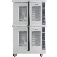 Garland MCO-ES-20 Double Deck Standard Depth Full Size Electric Convection Oven - 208V, 1 Phase, 20.8 kW