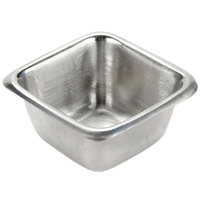 American Metalcraft SSC25 2.5 oz. Stainless Steel Square Sauce Cup
