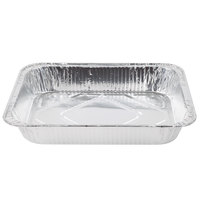 Choice 1/2 Size Foil Steam Table Pan Medium Depth - 2 3/16 inch Deep - 20 / Pack
