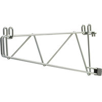Metro SWS21BR Smartwall G3 Brite Single Shelf Support 23 9/16 inch x 1 1/2 inch x 8 3/16 inch