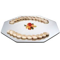 Cal-Mil PT241 24 inch Octagonal Mirror Tray
