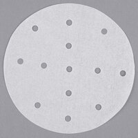 Garde 5 inch Perforated Round Patty Paper - 500/Pack