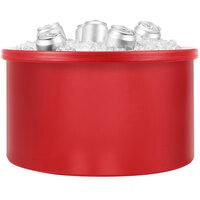 IRP 3151552 Red Icer 20 Qt. Round Countertop Merchandiser