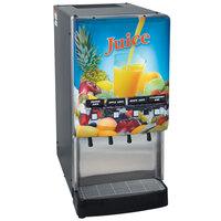 Bunn 37300.0004 JDF-4S LD 4 Flavor Cold Beverage Juice Dispenser with Lit Door