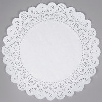 12 inch Lace Normandy Grease Proof Doilies   - 500/Case