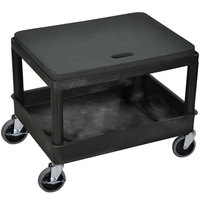 Luxor / H. Wilson MS21-B Black 24 inch x 18 inch x 20 inch Mechanics Seat