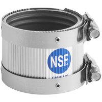 EF-NHC-200N NSF Certified Standard 2 inch No Hub Coupling