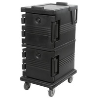 Cambro UPC600110 Black Camcart Ultra Pan Carrier - Front Load