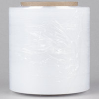 5 inch x 1000' 80 Gauge Stretch Banding Film / Pallet Wrap / Stretch Film   - 12/Case