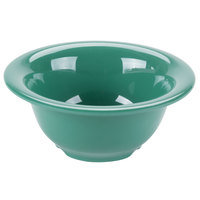 GET B-105-FG Diamond Mardi Gras 10 oz. Rainforest Green Melamine Bowl - 48/Case
