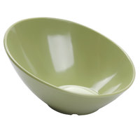 GET B-792-AV Diamond Harvest 24 oz. Avocado Cascading Melamine Bowl