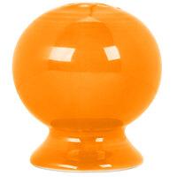 Homer Laughlin 751325 Fiesta Tangerine Pepper Shaker - 12/Case
