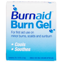 Medique 3066 Medi-First Burn Aid 3.5 g Burn Gel Packet - 25/Box