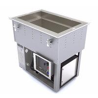 Vollrath 3667102U Bottom Mount 1 Pan Cold / Hot Food Well - 120/208-240V