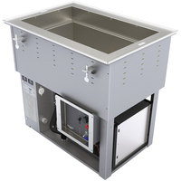 Vollrath 3667102U Bottom Mount 1 Pan Cold / Hot Food Well - 120/208-240V