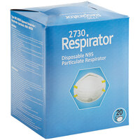 Harmful Dust N-95 Particulate Respirator - 20/Case