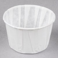 Genpak F250 2.5 oz. Harvest Paper Souffle / Portion Cup - 5000/Case