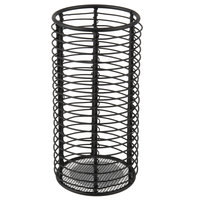 Sterno Products 85240 2 7/8 inch x 6 inch Black Wire Horizontal Metal Lamp Base