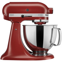 KitchenAid KSM150PSGC Gloss Cinnamon Artisan Series 5 Qt. Countertop Mixer
