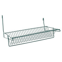 Metro IWA-S11K3 Smartwall G3 Metroseal 3 Slanted Lid Holder / Drying Shelf 14 1/8 inch x 20 3/4 inch x 12 1/8 inch