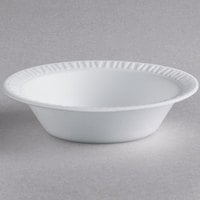 Dart 35BWWC Concorde 3.5-4 oz. White Non-Laminated Round Foam Bowl - 1000/Case