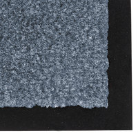 Teknor Apex NoTrax T37 Atlantic Olefin 4468-086 3' x 60' Slate Blue Roll Carpet Entrance Floor Mat - 3/8 inch Thick