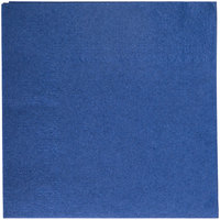 Hoffmaster 180322 Navy Blue Beverage / Cocktail Napkin - 250/Pack