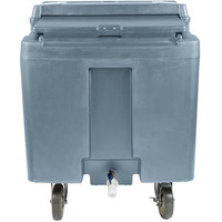 Cambro ICS125L401 SlidingLid Slate Blue Portable Ice Bin - 125 lb. Capacity