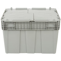 Vollrath 52647 Tote 'N Store 26 5/8 inch x 18 5/8 inch x 18 3/4 inch Gray Chafer Box