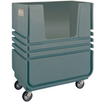 Metro BT48A MetroTrux Bulk Linen Truck / Cart with 2 Fixed & 2 Swivel Casters - 48 cu. ft. Capacity