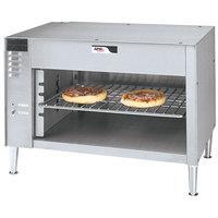 APW Wyott CMC-36 36 1/2 inch Countertop Cheese Melter - 240V
