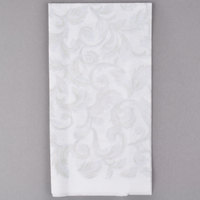 Hoffmaster 856524 Linen-Like 12 inch x 17 inch Imperial 1/6 Fold Guest Towel - 500/Case