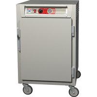 Metro C565-NFS-L C5 6 Series Half-Height Reach-In Heated Holding Cabinet - Solid Door