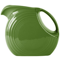 Homer Laughlin 484324 Fiesta Shamrock 2.1 Qt. Large Disc China Pitcher - 2/Case