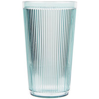 Carlisle 402064 Crystalon Stack-All 20.7 oz. Jade SAN Plastic Tumbler - 12/Case
