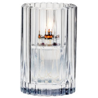 Sterno Products 80214 3 1/8 inch x 5 inch Clear Paragon Candle Liquid Candle Holder