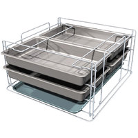 Metro MBQ-MR-14 Mini Rack for Metro 200 and 150 Two Door Banquet Cabinets