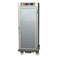 Metro C599-NFC-LPFS C5 9 Series Pass-Through Heated Holding and Proofing Cabinet - Solid / Clear Doors