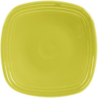 Homer Laughlin 921332 Fiesta Lemongrass 7 1/2 inch Square Salad Plate - 12/Case