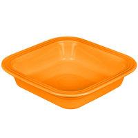 Homer Laughlin 962325 Fiesta Tangerine 9 inch Square Baker - 2/Case